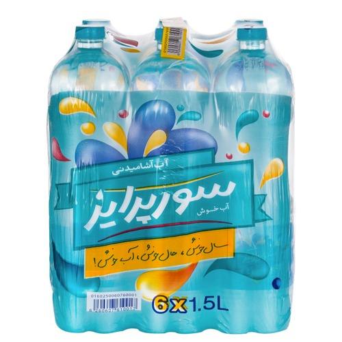 آب سورپرایز ۱.۵ لیتری